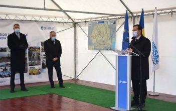 Președintele României, Excelența Sa Domnul Klaus Werner Iohannis și Prim-Ministrul României, domnul Ludovic Orban au participat la ceremonia care a marcat finalizarea obiectivului de investiții BRUA – faza 1